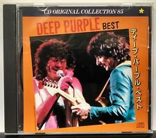 Deep Purple Best Original Collection 85 Japanese imp. S-045