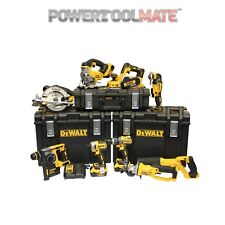Dewalt DCKPTM9P4 18V 4 x 5.0Ah XR Li-Ion 9 Piece ToughSystem Kit Brushless SDS
