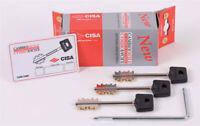 Cisa 06520.50.1 kit 3 chiavi corte 1 attrezzo di cambio per serrature