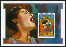 Gambia 1192 S/S, MI Bl.143, MNH. Famous Musicians: Billie Holiday, 1992