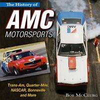 Amc Motorsports Gremlin Hornet Javelin Rebel Amx Trans-Am Drag Nascar Book