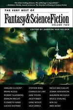 The Very Best of Fantasy and Science Fiction Vol. 2 by Paolo Bacigalupi, Stephen King, Jane Yolen, Harlan Ellison and Charles de Lint (2014, Paperback)