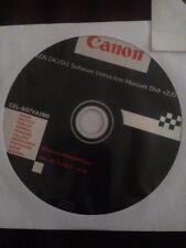 EOS Digital Software Instruction Manuals Disk v2/07
