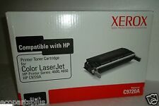 Xerox Genuine 6R941 Black Toner Cartridge 4600/4650 for HP C9720A NEW in the BOX