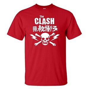 The clash T-Shirt Men's Women's sizes 13 colours