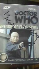 More details for  doctor who: spearhead from space - signed autograph nicholas courtney brigadier