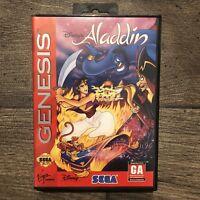 Aladdin - Sega Genesis - Complete CIB With Manual