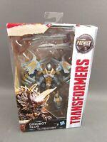 "Transformers Premier Movie Dinobot Slug 6"" Robot Toy Action Figure New In Box"