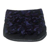 Free Ship Lululemon Hotty Hot Skirt Hounds Camo Emperor Blue Purple Sz 6 VEUC