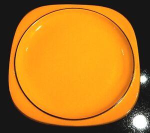 Beautiful Vintage Thomas of Germany Scandic Small Yellow Platter