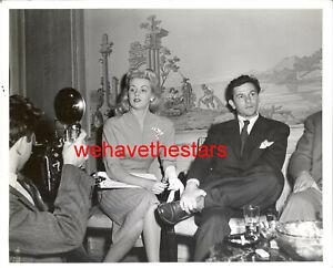 Vintage Dolores Moran John Garfield '44 CANDID Publicity Portrait FLOYD McCARTY