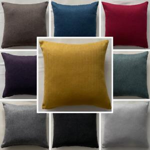 High Quality Handmade Herringbone Tweed Cushion Cover Home Decor Sofa Bed Zipper