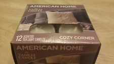 American home by yankee candle 12 Scented Tea Light Candles Cozy Corner
