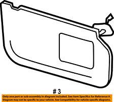 FORD OEM 09-10 F-250 Super Duty Interior-Sunvisor Sun Visor Right 8C3Z2604104EE