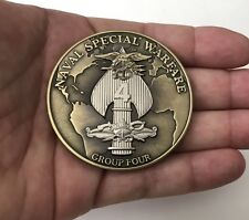 SEAL TEAM NAVY SEALS SPECIAL WARFARE 4 NSW PUNISHER CHALLENGE COIN KYLE NON CPO
