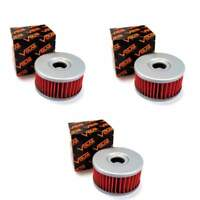 Volar Oil Filter - (3 pieces) for 1990-1993 Suzuki DR250