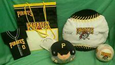 Pittsburgh Pirates -  Coozie, bag, foamball, plush ball, round bean player
