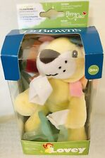 Dr. Brown's Lonny the Lion Lovey w/ Aqua Onepiece Pacifier & Teether, 0mo+