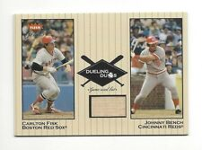 2002 Greats Of The Game Dueling Duos Johnny Bench Game-Used Bat #Dd-Jb1 Reds