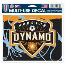 "Houston Dynamo WinCraft Removable Multi-Use Decal 4.5"" x 6"""