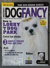 Dog Fancy Magazine 2003 September Maltese Kuvasz Otterhound Parks Allergies
