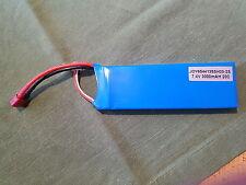 Marken Lipo Akku GE 7,4Volt 3000mah 2s 30C  25Min laden T-Plug reduziert