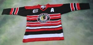 CCM 1992 NHL 75th Anniversary Chicago Blackhawks Bobby Hull #9 Jersey Size 52.