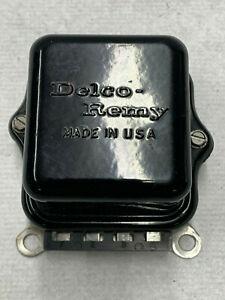 1964 RESTORED 1119515 3M DATE DELCO VOLTAGE REGULATOR CORVETTE CHEVELLE CHEVY II