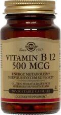 Vitamin B-12 500mcg Solgar 100 Caps