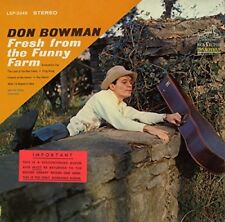 Don Bowman - Fresh From the Funny Farm [New CD] Manufactured On Demand