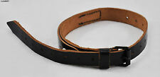 RARE - Original german leather belt strap for poncho etc WWII WW2 - UNUSED