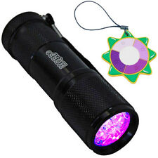 HQRP UV 365nM LED Ultra Violet Black Light Vaseline Uranium Glass Detector