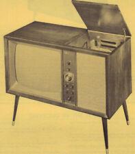 1961 TRAV-LER 23FMSP 6195B TV TELEVISION SERVICE MANUAL PHOTOFACT