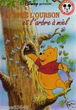 DISNEY/..WINNIE L'OURSON ET L'ARBRE A MIEL../MICKEY Club du livre HACHETTE