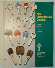 Vintage Old 1999 Hillman Key Identification Catalog Blanks Locksmith Supplies #2