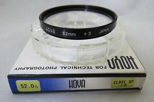 52mm Hoya Close Up +3 Filter - Lovely Vintage Version
