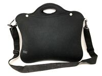 "Built NY Laptop Bag Computer Shoulder Handbag Messenger Bags Black 14.5""x12"""