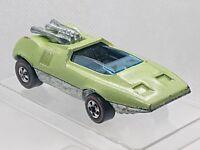 1970 Hot Wheels Peeping Bomb Redline HK Light Apple Green st# hw1074