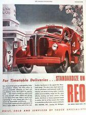 1948 REO Truck Vintage Advertisement Print Art Car Ad Poster LG68