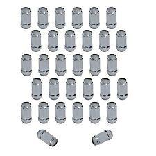 "32pcs Chrome Bulge Acorn Lug Nuts 9/16"" Dodge 2500 Trucks RAM 2"" Tall 3/4"" Head"