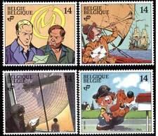 Belgique**Comics-BLAKE&MORTIMER-BOULE&BILL-4vals-CORI-1991-Cités Obscures-BD