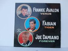 FRANKIE AVALON FABIAN TIGER JOE DAMIANO LP