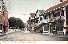 Baltic, Sprague, Conn. PC u. 191?, Railroad Street & Pharmacy, #B./11716