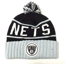 MITCHELL   NESS Brooklyn Nets Multi Team Color Cuffed Knit 4f83adb8501b