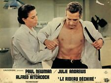 PAUL NEWMAN  ALFRED HITCHCOCK TORN CURTAIN 1966 VINTAGE LOBBY CARD #3