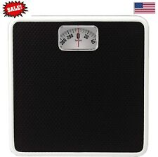 Bathroom Body Weight Scale Analog Mechanical Manual Weighing Scale Rotating Dial