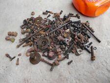 Farmall H Ih Tractor Assortment Of Nuts Bolts Drawbar Large Sq Head Bolts Etc