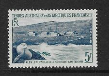 Fsat French Antarctic Territory 1956 New Amsterdam Seal Mnh