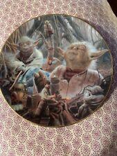 Yoda Hamilton Collection Heros And Villians Plate 1998 Lucas Film