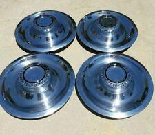 Chevy Center Caps Hubcaps wheel Camaro Rally power disc brake set of 4